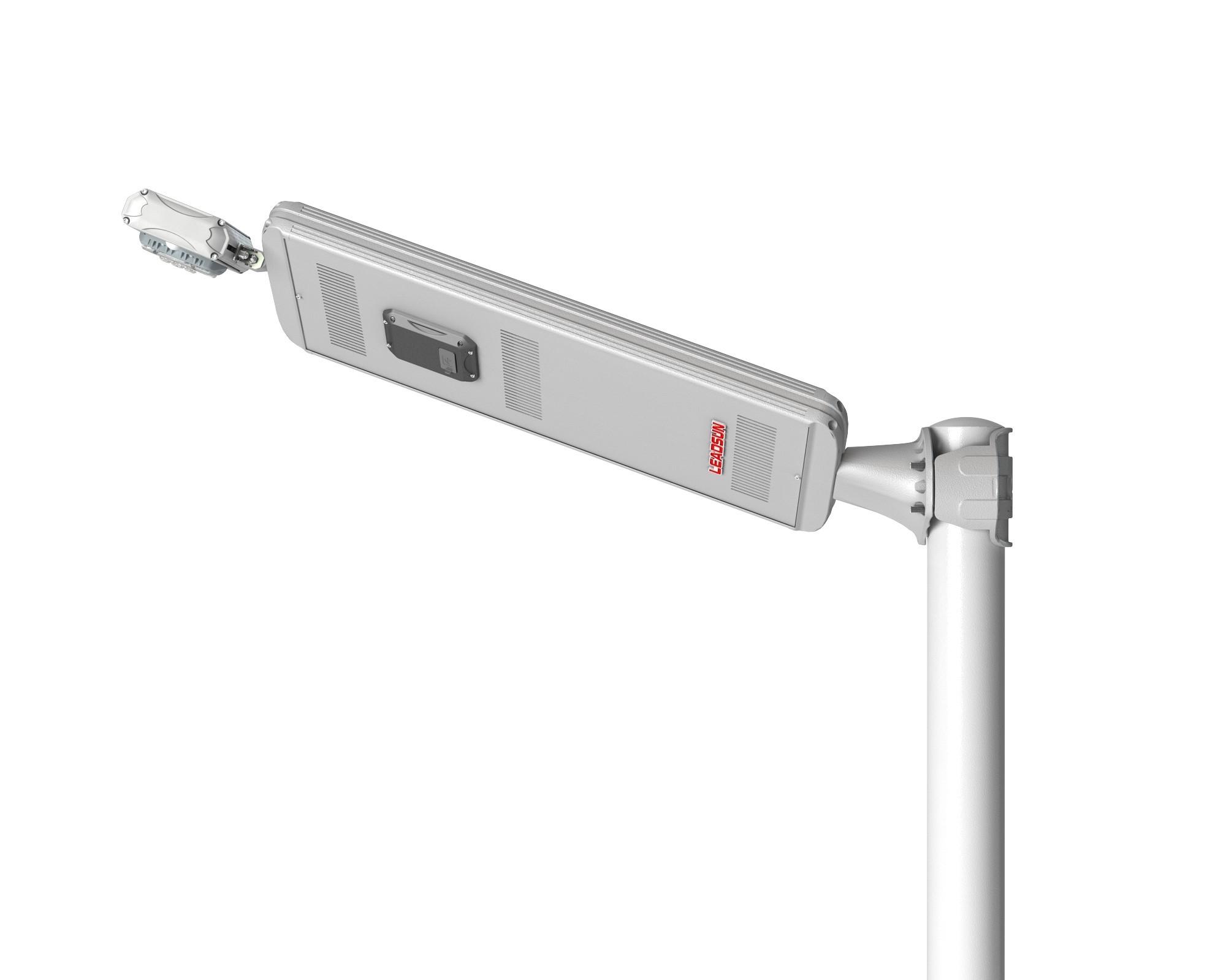 HC824ASR3010IMC - Solar Street Light AE2 Swivel Type, 30W PV, 10W Cree LED